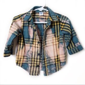 Old Navy Infant Bleached Flannel